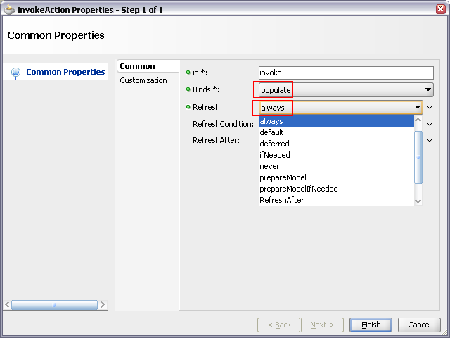 How to invoke method before the page loads in ADF? (6/6)