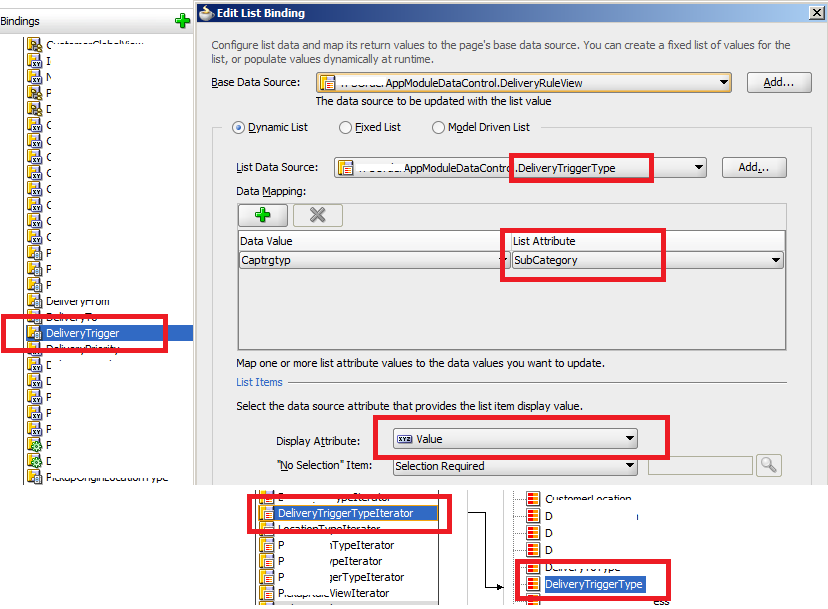 How To in Jdeveloper ADF  Tutorials - set and get SelectOneChoice values (2/2)